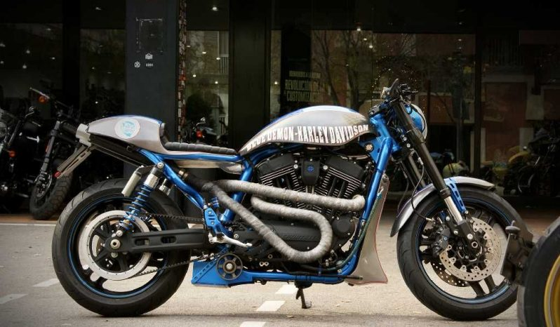 Blue Demon – Sportster XR1200X 2012
